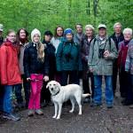 Vor der Wanderung noch schnell ein Gruppenfoto