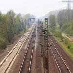 Die Bahnlinie aus einer anderen Perspektive