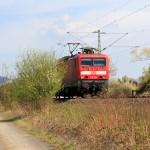 Ein Zug kommt.