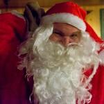 Plötzlich kommt er zur Tür herein, der Nikolaus!