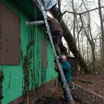18 Befestigung der Dachplane an der Rückseite