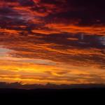 20) Der August bescherte uns viele solcher Sonnenuntergänge wie an diesem Abend