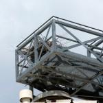 8) Das angefangene Nest auf der Philippi-Mühle